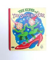 The Elves And The Shoemaker 1958 Whitman Publishing First Edition VGC
