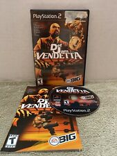 Def Jam Vendetta (Sony PlayStation 2, 2003) PS2 Complete Tested Retro Action Rap