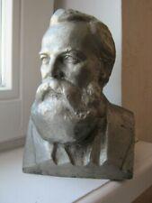Rare old russian USSR soviet bust cast socialist leader Friedrich Engels