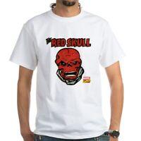 CafePress Marvel Comics Red Skull Retro White T Shirt Mens T-Shirt (1397703217)
