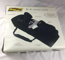 Bag Boy T-1 Heavy Duty Black Travel Golf Bag ~ Cover and Gear Storage Club Tote