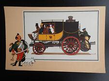 Chromos Tintin Voir et Savoir Automobile origines à 1900 Série 2 N° 14