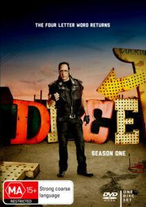 Dice: Season 1 DVD BRAND NEW SEALED 💥💥