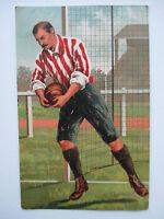 Antique soccer football postcard Early 1900's Stengel& Co Dresden Germany
