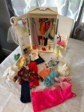 New ListingVintage Sindy Doll & Hutch w/ Clothes & Accessories by Marx Toys