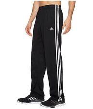 Adidas Mens Training Climacore 3 Stripe Loop Drawcord Athletic Pants