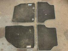 Ford Focus Floor Mats Matts Foot Well Carpet SET OF 4 MK2 RS 09 - 11 Blue Stitch