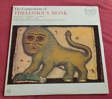 THELONIOUS MONK  LP RIVERSIDE US ORIG THE COMPOSITIONS OF MONK PLAYED