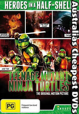 Teenage Mutant Ninja Turtles The Original Movie DVD NEW,FREE POST IN AUS REG ALL
