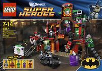 LEGO Super Heroes Batman - Rare - Funhouse Escape 6857 - New & Sealed