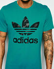 Adidas Men's Trefoil Tee Shirt Chooes Sizes Colors