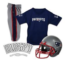 YOUTH MEDIUM New England Patriots NFL UNIFORM SET Game Football Costume Ages 7-9