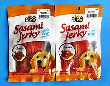 Snack Dog Food Healthy Pet Premium Number 1 BEST Chicken Jerky Sliced Delicious