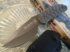 United Kill,em All Gray Tini Hunter Combat Knife Full Tang Micarta Kydex 3054