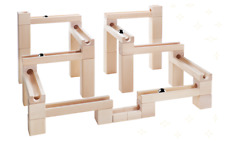 Marble Run Race Set Construction Building Blocks Toy Game Track Kids