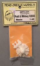 Pend Oreille Models 1:48 Front Engine Pratt & Whitney R2800 #48PO-A04