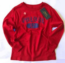 POLO RALPH LAUREN Kids Boys Graphic T-shirt, Red, size 4 years