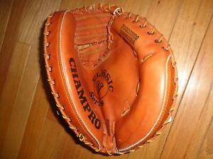 """Champro Classic V Series 12"""" Catcher's Glove / Mitt - Premium Cowhide"""