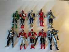 Mixed Lot Of Power Rangers Action Figures Toys