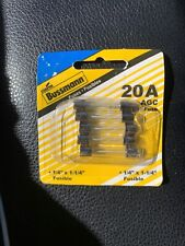 Bussmann  20 amps AGC  Fuse Assortment  5 pk