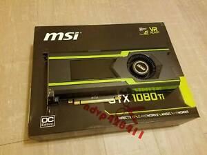 MSI GeForce GTX 1080 Ti Aero OC 11GB GDDR5X Gaming Graphic Card