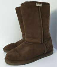 Bearpaw Brown Suede Womens Boots Size UK 7 (m6)