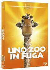 UNO ZOO IN FUGA RARO DVD DISNEY REPACK 2015 FUORI CATALOGO- SIGILLATO