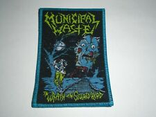 MUNICIPAL WASTE THE WRATH OF THE SEVERED HEAD WOVEN PATCH