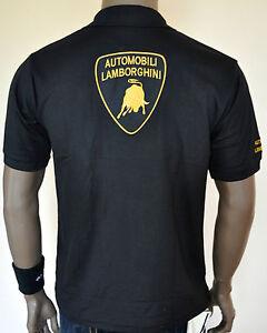 NWT Automobili Lamborghini Smart Casual Polo T-Shirt For Men