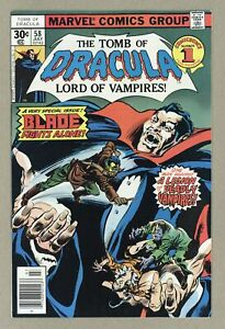 Tomb of Dracula #58 NM 9.4 1977