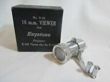 Vintage Keystone Projector 16mm Viewer V-16 for K-160 or K-161 1940's