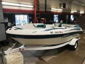 18' Sea Doo Sportster 1500  210HP Mercury w/ Miscellaneous Trailer  T1301590