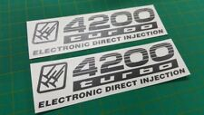 Toyota Prado Land cruiser 100 4200 Turbo injection replacement decals stickers