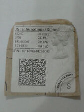 JS INTERNATIONAL SIGNED STICKER - SIGNATURE REQUIRED