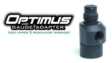 TECHT Optimus 360 Swivel Gauge Adapter - DM/PM 8/9 Style - Black
