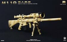 Easy & Simple 1/6 Scale Toy 06003B M110 SASS Semi Automatic Sniper System Set