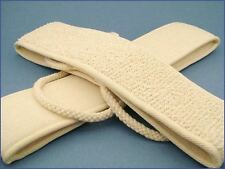 Soft Natural Sisal Fiber Back-Strap Exfoliator Scrubber