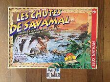 Les Chutes de Savamal (jeu de société) FERNAND NATHAN 1997 France