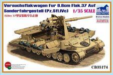 Bronco 1/35 35174 Versuchsflakwagen Fur 8.8cm Flak.37 Auf Sonderfahrgestell