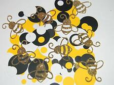 Mommy to Bee Be Confetti - Bee Baby Shower decorations - 100pcs