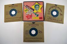 "RCA Victor Set Artie Shaw 6 Song Favorite Swing Jazz Clarinet 7"" 45 Vinyl"