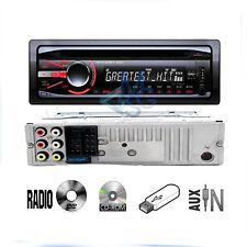 Stereo Cdx Autoradio Fs6 52W 4Ch Cd Dvd Usb Aux Radio Frontalino Estraibile Mp3