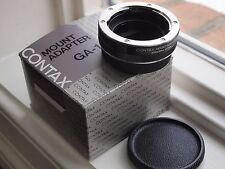 Mint Contax GA-1 adapter for Zeiss RTS III AX RX SLR  lenses on G2 G1 cameras