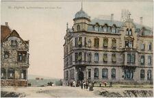 St. Ingbert Saar im Saarpfalz-Kreis Luitpoldstraße mit neuer Post AK 1906