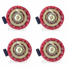 New 4 Pack Of Pull Start Red Recoil Cover 8HP & 9HP Fits Honda GX240 & GX270