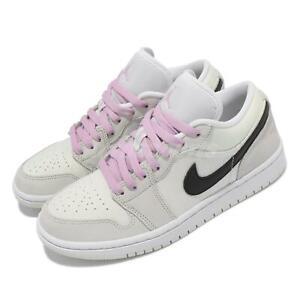 Nike Wmns Air Jordan 1 Low SE Barely Green Black White Women Shoes CZ0776-300
