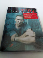 "STING ""... ALL THIS TIME"" DVD SPECIAL COMO NUEVO"