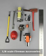 "1/6 Scale Fireman Tools Accessories Set For 12"" Action Figure"