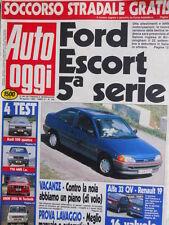 Auto OGGI n°195 1990 Test Audi 200 Quattro Y10 4WD ie BMW 318is M Toyota  [Q200]