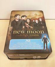 Twilight Saga New Moon Blu-ray Collector's Edition w/ Edward Figurine New Sealed